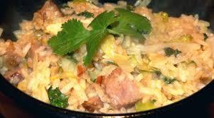 cuisiner du sauté de porc riz sauté au porc de plein air la tendresse en cuisine