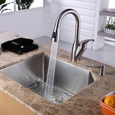 3 Bowl Undermount Kitchen Sink by Kitchen Sinks Prep Sink Soap Dispenser Bottle Triple Bowl Square