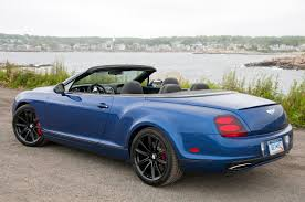 blue bentley interior 2012 bentley continental supersports convertible w video autoblog