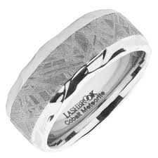 mens wedding bands cobalt mens wedding band in cobalt meteorite 9mm