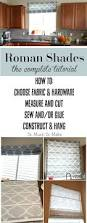 How To Make Roman Shades For French Doors - best 25 roman shades kitchen ideas on pinterest roman shades