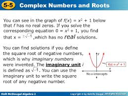3 you can see in the graph of f x x2 1 below that f has no real zeros if you solve the corresponding equation 0 x2 1