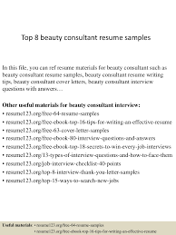 Cosmetology Resume Sample by Top8beautyconsultantresumesamples 150331221758 Conversion Gate01 Thumbnail 4 Jpg Cb U003d1427858324