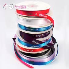 personalized satin ribbon 100 yard lot many color personalized satin ribbon diy ribbon for