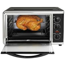 presto pizzazz plus rotating countertop oven 03430 the home depot