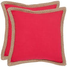 Red Decorative Pillow Red Pillows Decor By Color