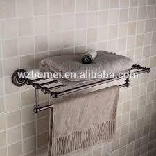 Bathroom Wire Rack American Style Oil Rubbed Bronze Finishing Metal Bathroom Rack