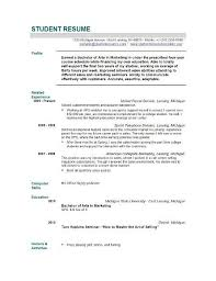 Best Resume For College Student by Academic Resume Resume Template High Student Academic 10