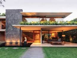 Contemporary Homes Designs Contemporary Home Design Surrounded By Green Beautiful Garden With