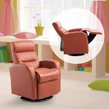 fauteuil et canapé homcom fauteuil canapé sofa enfant 3 12 ans rembourré inclinable