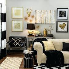 metallic home decor black home decor bring home big city style with metallic gold and