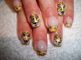 tiger print nail design ideas how to create tiger nails