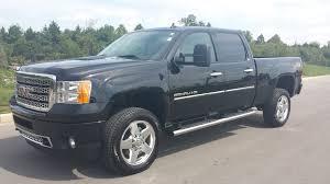 sold 2014 gmc denali 2500 hd z71 crew cab 4x4 6 6l duramax black