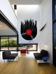 wandgestaltung mit farbe schallplatten wandgestaltung mit farbe wand streichen ideen