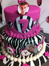 justin bieber cake done for a 2nd cousins 7th birthday i have to