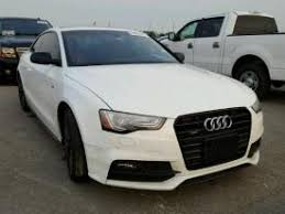 damaged audi for sale salvage audi a5 cars for sale and auction
