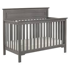 Baby Crib Convertible To Toddler Bed Davinci Autumn 4 In 1 Convertible Crib Slate Baby