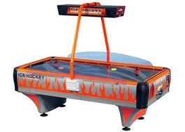 Arctic Wind Air Hockey Table by Challenger Neon 2 Player Air Hockey Table Air Hockey Lowest