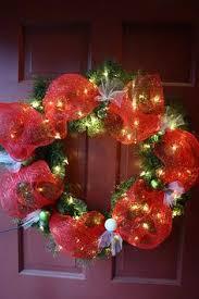 silver and gold deco mesh wreath deco mesh wreaths pinterest