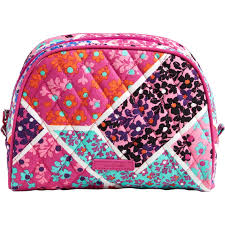 vera bradley medium zip cosmetic bag modern medley shop by