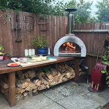 wood fired pizza oven or ceramic bbq cornelius veakins