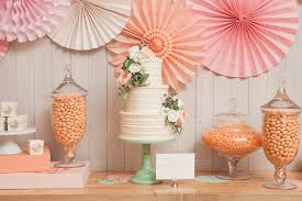 orange peach candy buffet the sweetest occasion