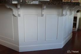 kitchen island molding kitchen island idea adding trim and molding for the home