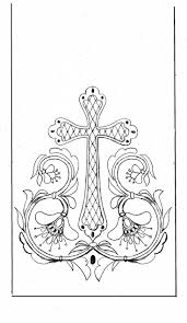 690 best line drawings for embroidery crosses christian