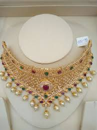 beautiful necklace designs images Gold beautiful wedding necklace designs fashion beauty mehndi jpg