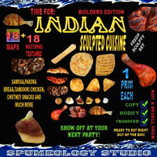 second en cuisine second marketplace indian cuisine food sculpty maps and textures