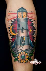 Nautical Tattoos by 43 Best Lighthouse Tattoos Images On Pinterest Lighthouse