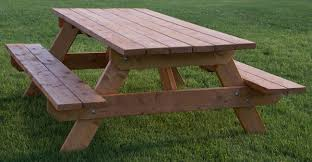 fabulous large wooden picnic table 31 alluring picnic table ideas