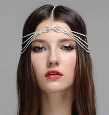 chain headband bohemian headpiece headpiece embellished