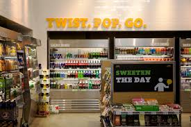 7 eleven concept store is modern and surprisingly the