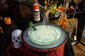 halloween punch recipe with dry ice