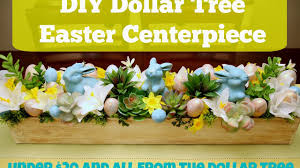 diy dollar tree decor how to make an easter centerpiece youtube