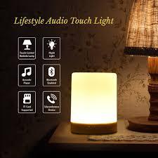 amazon com night light bluetooth speaker shava portable wireless