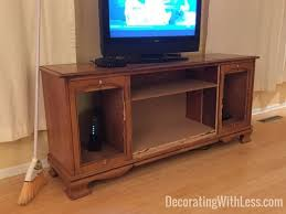 Homemade Stereo Cabinet How To Transform A Vintage Stereo Cabinet Into A Stunning Sofa