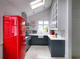 Kitchen Wall Pantry Cabinet Wall Pantry Cabinet And Red Refrigerator Also Apron Front Kitchen
