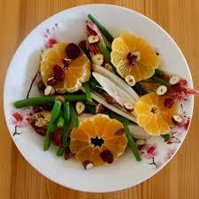 clementine cuisine clementine bean chicory hazelnut salad vegan gf rhian s