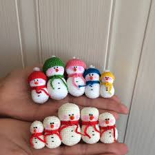 christmas ornaments u2013 snowman doubletrebletrinkets