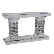 Mirror Console Table Mirrored Console Table Tower