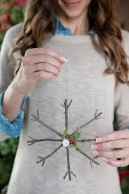 how to make rustic twig ornaments ornament