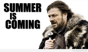 Summer Is Coming Meme - summer is coming meme