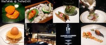 cuisine la เพล ดเพล นตาก บศ ลปะบนจาน ร นรมย ใจก บอาหารฝร งเศสท ผสมผสาน