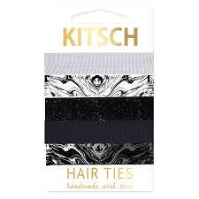 kitsch hair ties kitsch hair tie marble bluewater 6 00