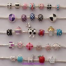 european charm bracelet beads images Random pack of silver plated european charm bracelet charm beads jpg