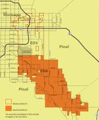 Chandler Arizona Map by Electrical District 6 Coverage Mapm