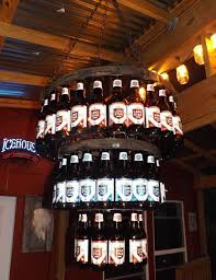 How To Make A Chandelier Out Of Beer Bottles The 25 Best Beer Bottle Chandelier Ideas On Pinterest The Room