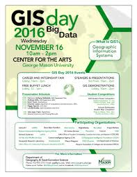 Gmu Campus Map Geography And Geoinformation Science U2013 Gis Day 2016 U2013 Big Data
